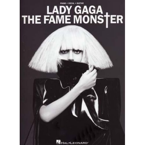 HAL LEONARD LADY GAGA - THE FAME MONSTER - PVG