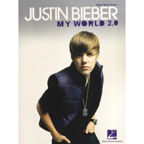HAL LEONARD BIEBER JUSTIN - MY WORLD 2.0 SONGBOOK - PVG