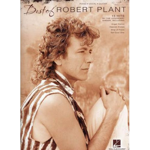 HAL LEONARD PLANT ROBERT - BEST OF - PVG