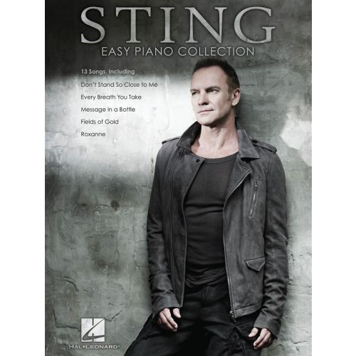 HAL LEONARD STING EASY PIANO COLLECTION - PIANO SOLO