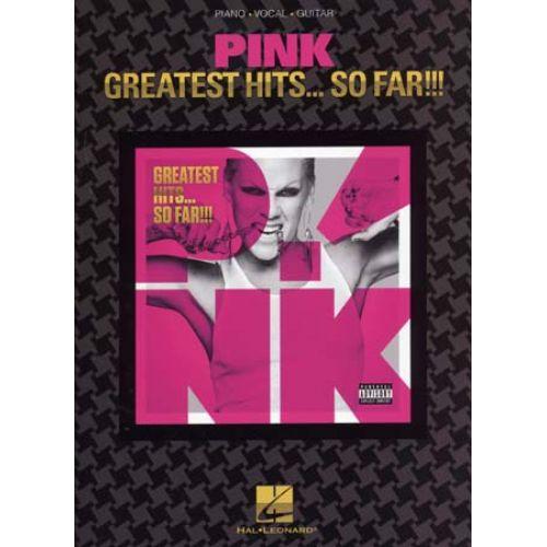 HAL LEONARD PINK - GREATEST HITS... SO FAR - PVG