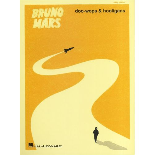 HAL LEONARD MARS BRUNO DOO-WOPS AND HOOLIGANS EASY - PIANO SOLO