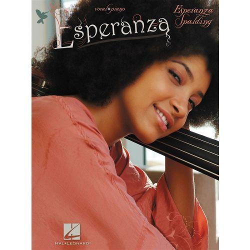 HAL LEONARD SPALDING ESPERANZA ESPERANZA PVG SONGBOOK - PIANO AND VOCAL