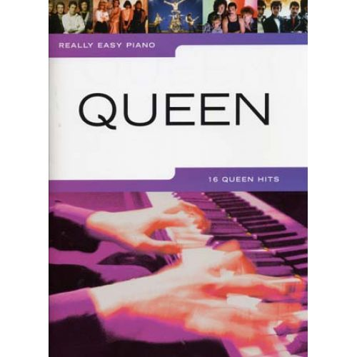 HAL LEONARD QUEEN - REALLY EASY PIANO