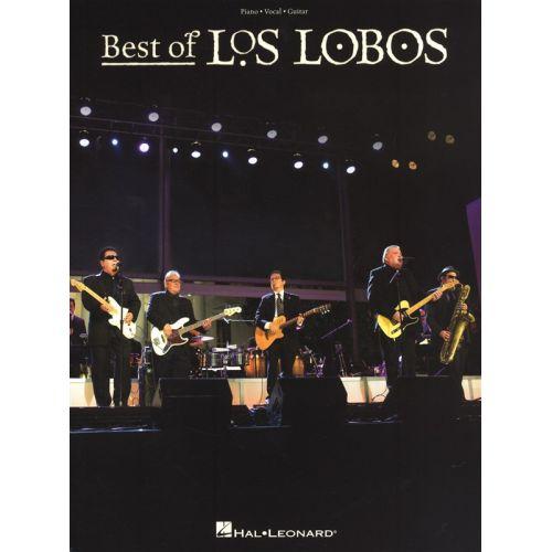 HAL LEONARD LOS LOBOS - BEST OF - PVG