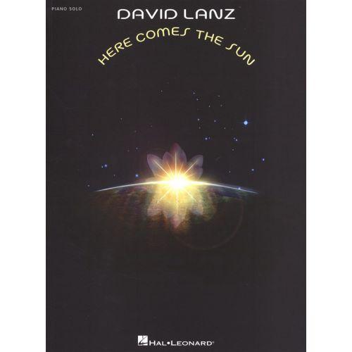 HAL LEONARD LANZ DAVID HERE COMES THE SUN PIANO SOLO - PIANO SOLO