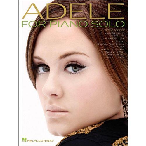 HAL LEONARD ADELE - ADELE FOR PIANO SOLO