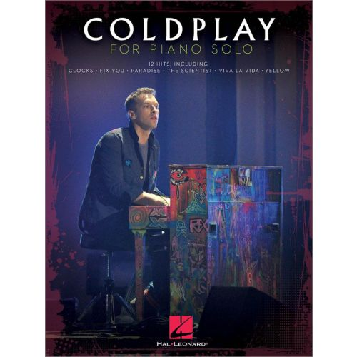 HAL LEONARD COLDPLAY - COLDPLAY FOR PIANO SOLO