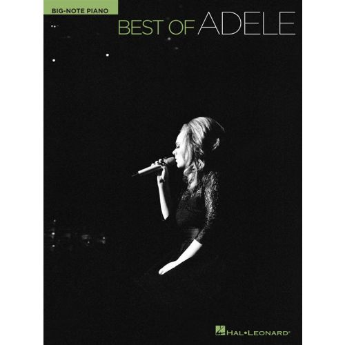 HAL LEONARD BEST OF ADELE BIG NOTE PIANO PERSONALITY - PIANO SOLO