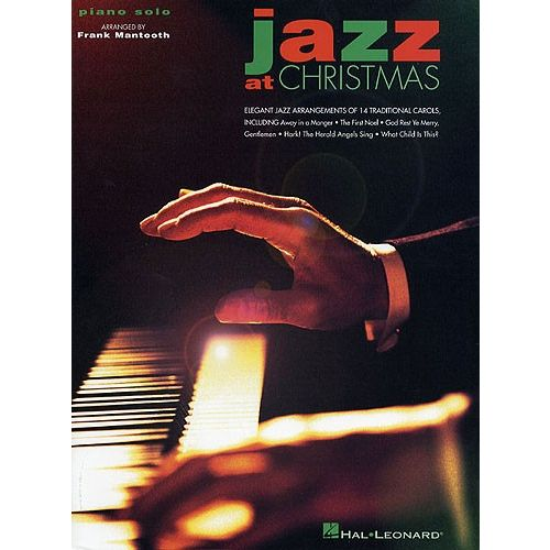 HAL LEONARD MANTOOTH FRANK - JAZZ AT CHRISTMAS - PIANO SOLO