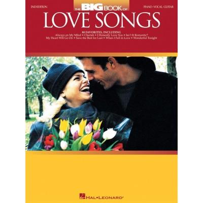 HAL LEONARD ROMANTIC SHTHE BIG BOOK OF LOVE SONGS - 2nd EDITION - PVG
