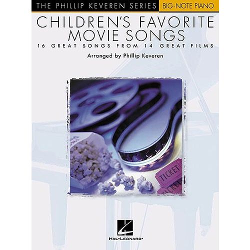 HAL LEONARD CHILDREN'S FAVOURITE MOVIE SONGS - PIANO SOLO