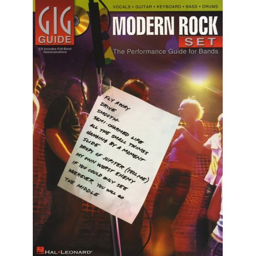 HAL LEONARD GIG GUIDE - MODERN ROCK SET + CD - ALL INSTRUMENTS