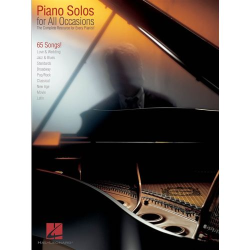 HAL LEONARD PIANO SOLOS FOR ALL OCCASIONS - THE COMPLETE RESOURCE FOR EVERY PIANIST! - PIANO SOLO