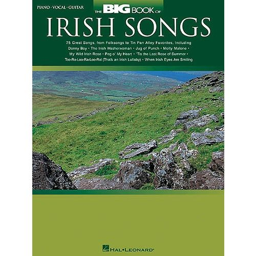 HAL LEONARD BIG BOOK OF IRISH SONGS - PVG
