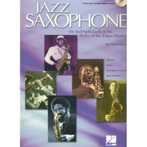 HAL LEONARD JAZZ SAXOPHONE STYLES TENOR MASTERS CD