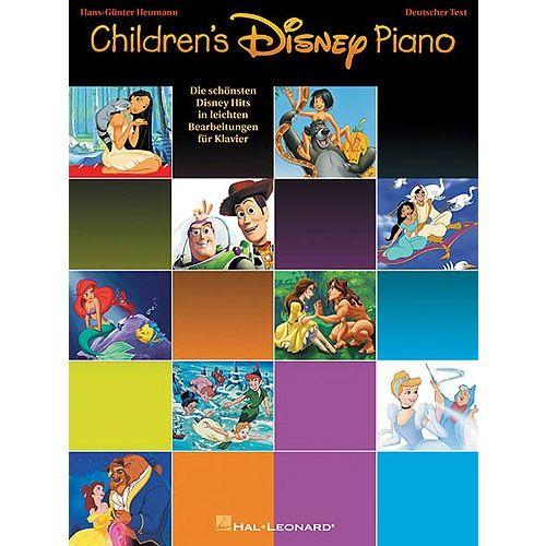 HAL LEONARD HEUMANN - CHILDREN'S DISNEY PIANO GERMAN EDITION - PVG
