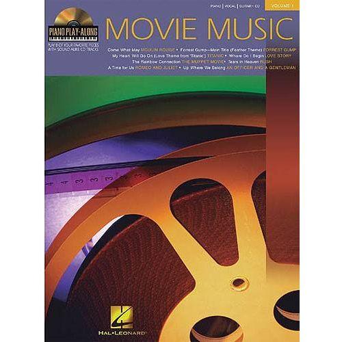 HAL LEONARD PIANO PLAY ALONG VOL.01 - MOVIE MUSIC + CD