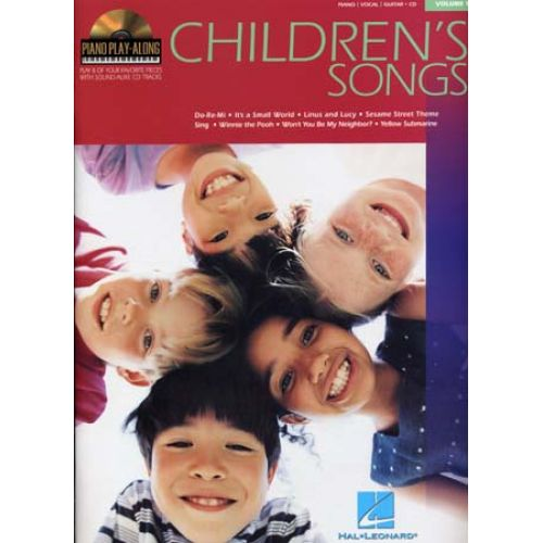 HAL LEONARD PIANO PLAY ALONG VOL.09 - CHILDREN'S SONGS + CD