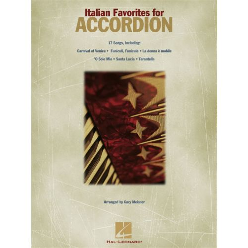 HAL LEONARD ITALIAN SONGS FOR ACCORDION - ACCORDION