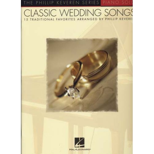 Hal Leonard Classic Wedding Songs Keveren Piano Solos