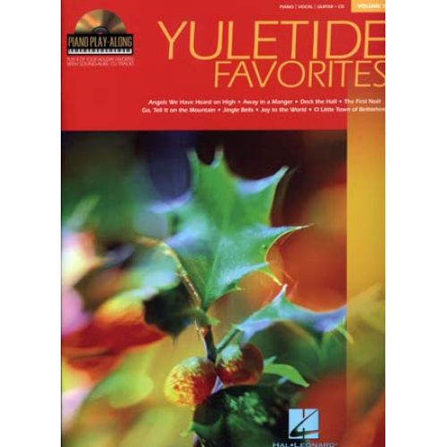 HAL LEONARD PIANO PLAY ALONG VOL.13 - YULETIDE FAVORITES + CD