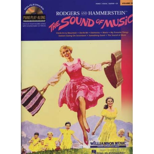 HAL LEONARD RODGERS/HAMMERSTEIN - PIANO PLAY ALONG VOL.25 - THE SOUND OF MUSIC + CD