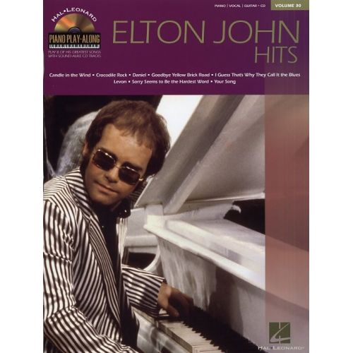 HAL LEONARD JOHN ELTON - PIANO PLAY ALONG VOL.30 + CD