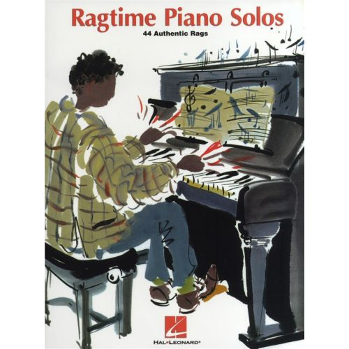 HAL LEONARD RAGTIME PIANO SOLOS 44 AUTHENTIC RAGS - PIANO SOLO