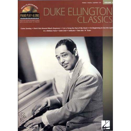 HAL LEONARD ELLINGTON DUKE - PIANO PLAY ALONG VOL.39 + CD