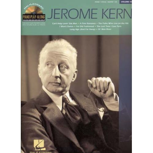 HAL LEONARD KERN JEROME - PIANO PLAY ALONG VOL.43 + CD