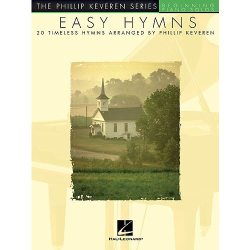 HAL LEONARD EASY HYMNS - 20 TIMELESS HYMNS - PIANO SOLO