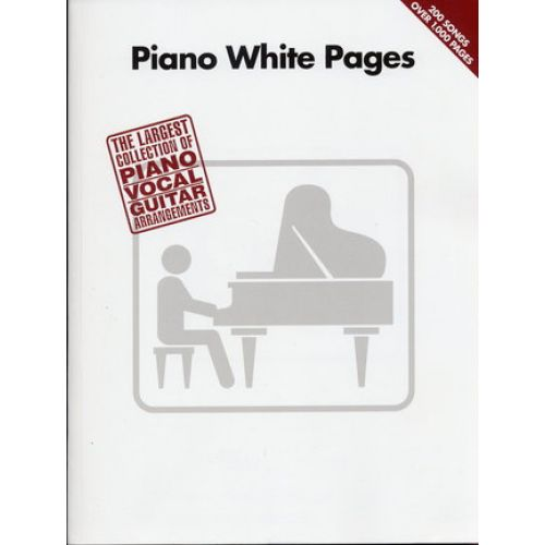 HAL LEONARD PIANO WHITE PAGES - PVG