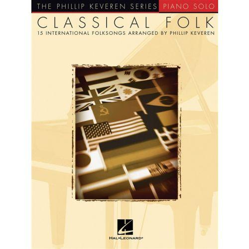 HAL LEONARD CLASSICAL FOLK - PIANO SOLO