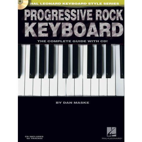 HAL LEONARD PROGRESSIVE ROCK + CD - KEYBOARD