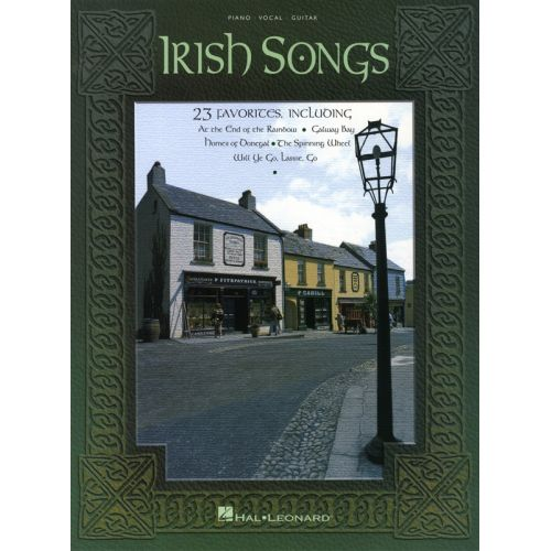 HAL LEONARD IRISH SONGS - PVG