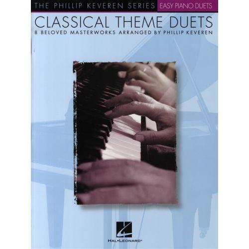 HAL LEONARD CLASSICAL THEME DUETS EASY - PIANO SOLO