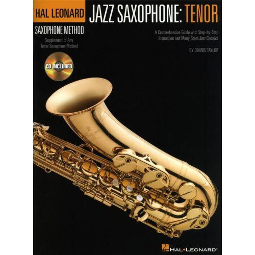 HAL LEONARD TAYLOR DENNIS - JAZZ SAXOPHONE - TENOR+ CD - TENOR SAXOPHONE