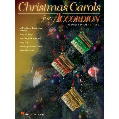 HAL LEONARD CHRISTMAS CAROLS FOR ACCORDION - ACCORDION