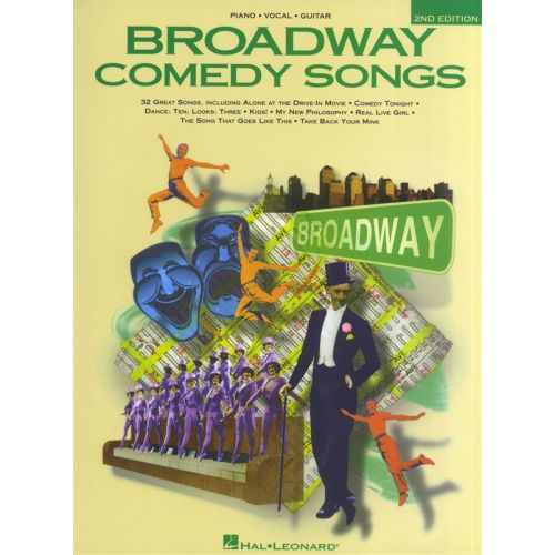 HAL LEONARD BROADWAY COMEDY SONGS 2ND EDITION - PVG