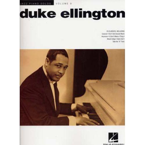 HAL LEONARD ELLINGTON DUKE - JAZZ PIANO SOLOS VOL.9 23 CLASSICS - PIANO