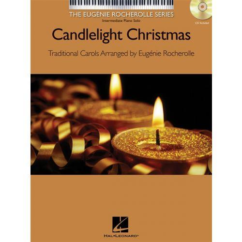 HAL LEONARD CANDLELIGHT CHRISTMAS + CD - PIANO SOLO