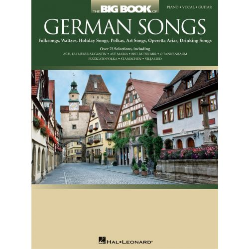 HAL LEONARD THE BIG BOOK OF GERMAN SONGS - PVG