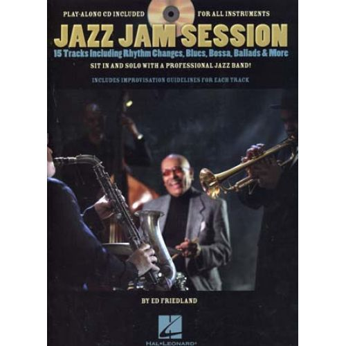 HAL LEONARD JAZZ JAM SESSION FOR ALL INSTRUMENTS + CD