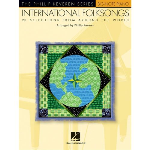 HAL LEONARD INTERNATIONAL FOLKSONGS BIG NOTE - PIANO SOLO