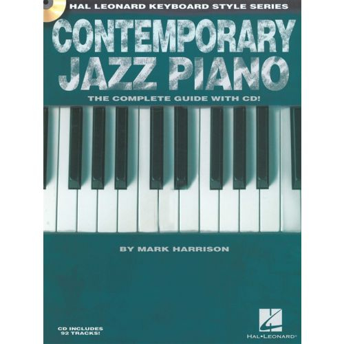 HAL LEONARD HAL LEONARD KEYBOARD STYLE SERIES CONTEMPORARY JAZZ PIANO + CD - PIANO SOLO