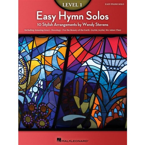 HAL LEONARD EASY HYMN SOLOS LEVEL 1 - PIANO SOLO