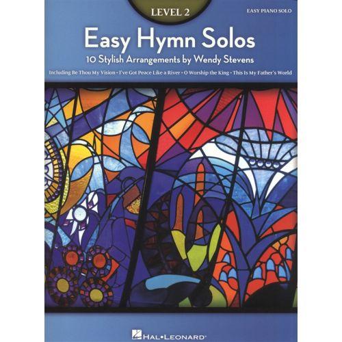HAL LEONARD EASY HYMN SOLOS LEVEL 2 - PIANO SOLO