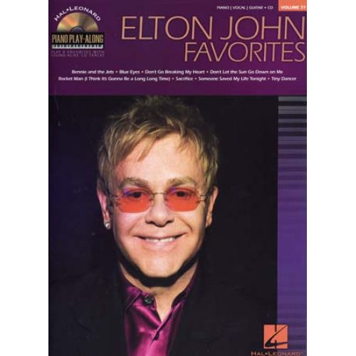 HAL LEONARD JOHN ELTON - PLAY ALONG VOL.77 + CD - PIANO