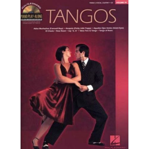 HAL LEONARD TANGOS PIANO PLAY ALONG VOL.79 + CD